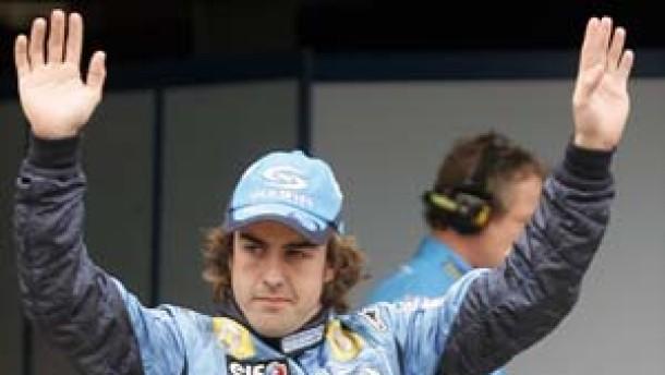 Beste Aussichten für Renault und Alonso