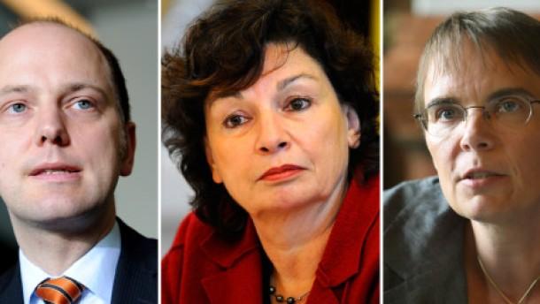 Grüne Senatoren erhalten Entlassungsurkunden