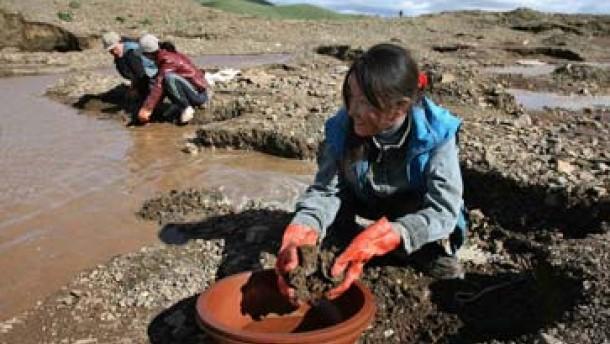 Goldgräberstimmung in der Mongolei