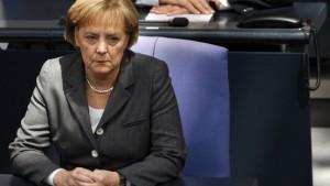 CDU streitet über Merkels Stil