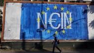 Ausnahmezustand wegen griechischer Schuldenkrise