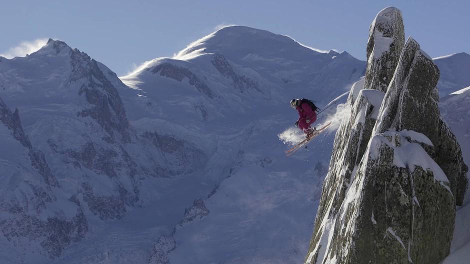 Peter Mathis fotografiert Extremsportler in den Bergen