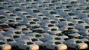 Autoexport schrumpft kräftig