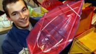 Ein Siegerschiff: erstmals mehr als drei Kilo Zuladung