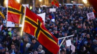 Tausende bei fremdenfeindlicher Pegida-Kundgebung