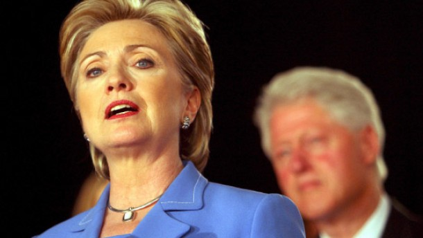 Die Clintons sind sehr verstimmt