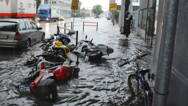 Drei Todesopfer durch Unwetter