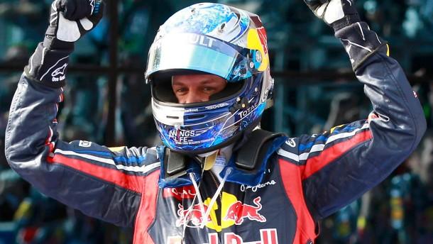 Sebastian Vettels Rekordjagd geht weiter