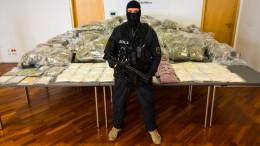 646 Kilogramm Drogen sichergestellt