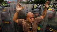 Venezuelas Opposition will Präsidenten absetzen