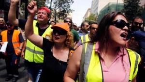 Griechen zweifeln an ihren Privatisierungserlösen