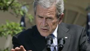 Kongress beugt sich Bush