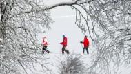Schneeschuhwandern in den Bayerischen Alpen