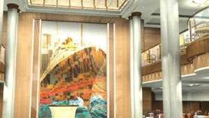 """An Bord der """"Queen Mary 2"""" - Cunards künftiges Flaggschiff"""