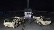 Amerikanische Raketen in Südkorea stationiert