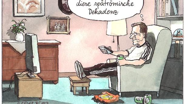 Karikatur / Greser & und Lenz / Westerwelle verliert bald alle Ämter