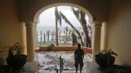 Hurrikan Odile verwüstet Urlaubsstrände