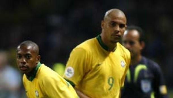 Nur Parreira hält zu Ronaldo