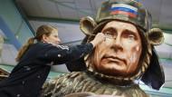 Putin am Gashahn, Obama als lahme Ente