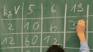 In Lesen, Mathe und Motivation mittelmäßig