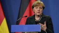 Merkel macht sich für Meinungsfreiheit stark
