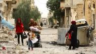 Einwohner kehren zurück ins zerstörte Palmyra