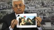 Palästinenser geben Israel die Schuld an Ministertod