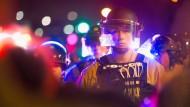 Zusammenstöße in Ferguson