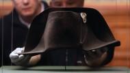 Napoleons Hut zu bestaunen