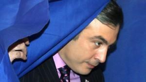 Ein Sieg für Saakaschwili ohne große Gegenwehr