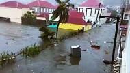 """""""Irma"""" trifft auf Saint-Barthélemy"""