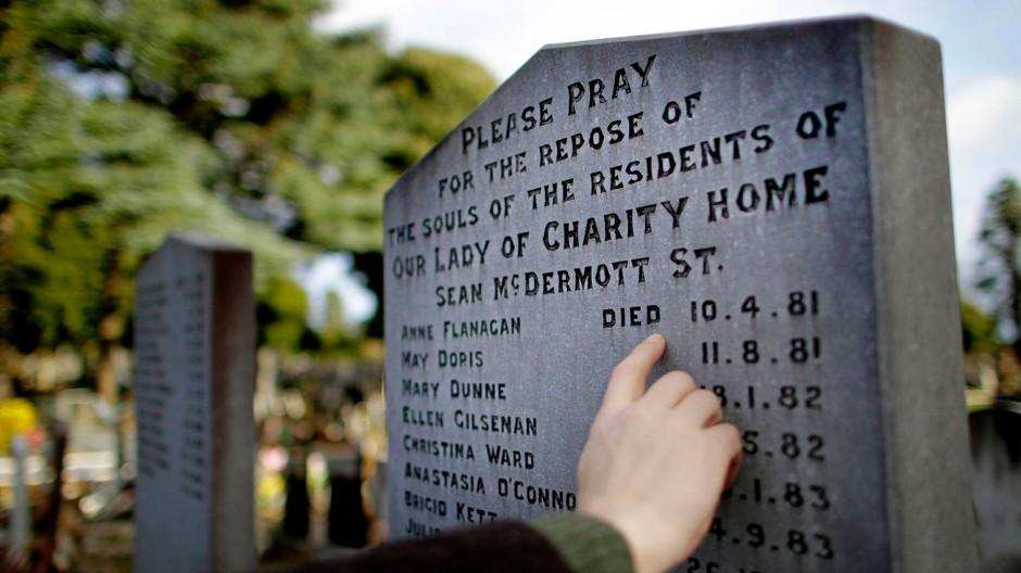 Leben für den Orden: Ein Grabstein für Insassen des Magdalenenheims von Glasnevin, einem Stadtteil von Dublin