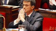 Frankreichs Ministerpräsident Valls fürchtet Attentate mit Chemie-Waffen