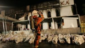 Nachtclub in Flammen: 59 Tote bei Silvesterparty