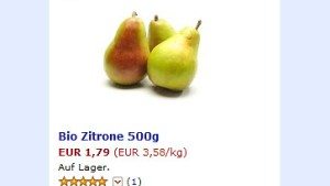 Amazon verkauft jetzt auch Gemüse