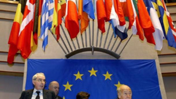 Stufenplan für EU-Verfassung?