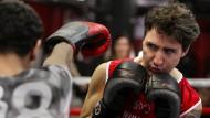 Kanadas Ministerpräsident Trudeau boxt in Brooklyn