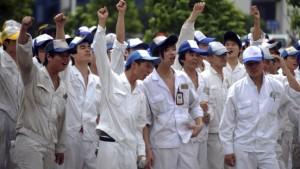 Der soziale Unmut in China wächst