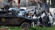 Sieben Polizisten bei Bombenexplosion in Türkei getötet