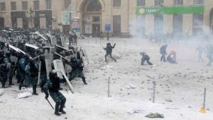 EU droht Janukowitsch