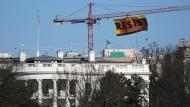 Greenpeace-Protest über dem Weißen Haus