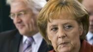 Angela Merkel und Frank-Walter Steinmeier: Wer trifft die angemessene Tonlage?