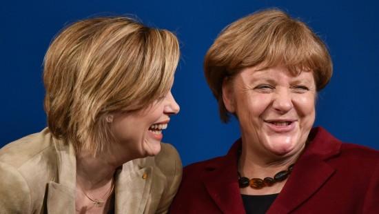 Merkel unterstützt Klöckner im Wahlkampf