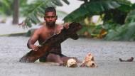 Viele Opfer nach Unwetter in Sri Lanka