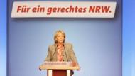 Am Mittwoch könnte Hannelore Kraft im zweiten Wahlgang mit einfacher Mehrheit zur Ministerpräsidentin gewählt werden