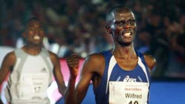 Wilfred Kigen siegt mit Streckenrekord