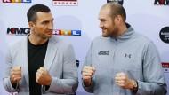 Klitschko will Weltmeistertitel von Fury zurückholen