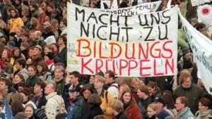 An deutschen Universitäten bleibt es ruhig
