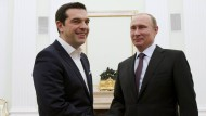 Alexis Tsipras besucht Wladimir Putin in Moskau