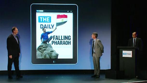 Murdoch startet die erste Zeitung für das iPad